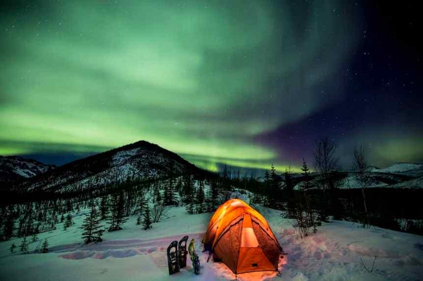 Northern Lights in Alaska - Beaver Creek Wild and Scenic River - Bureau of Lan Management via Flickr