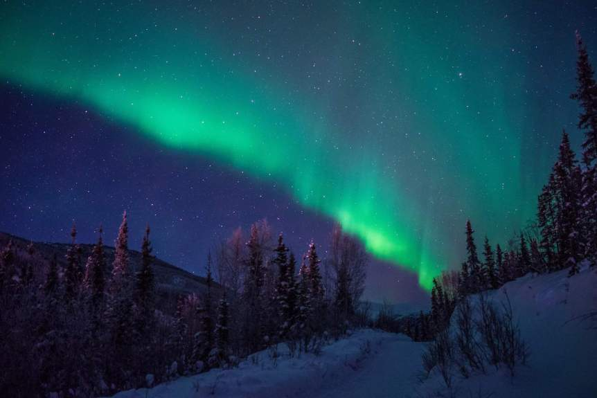 Northern Lights in Alaska - Chena Hot Springs - Kodachron via Flickr