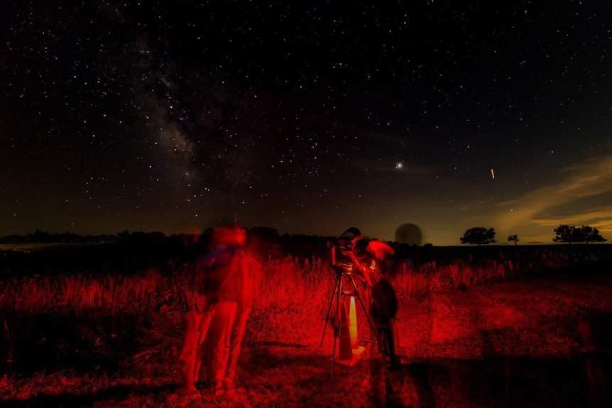 Stargazing near Washington D.C. -Shenandoah - Mary O'Neill for NPS