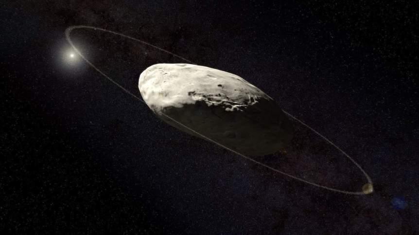 Haumea - Kevin Gill via Flickr