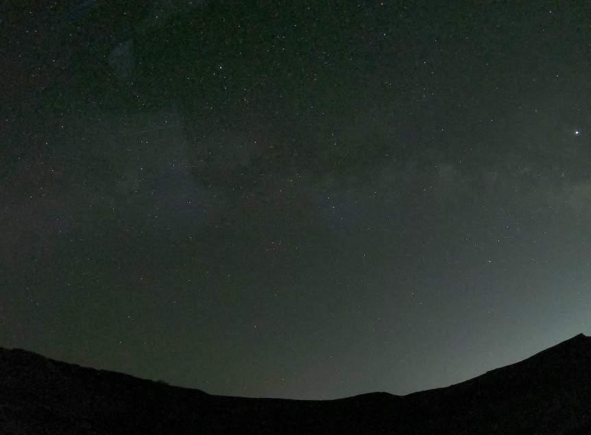 GoPro Night Photo - Snow Canyon