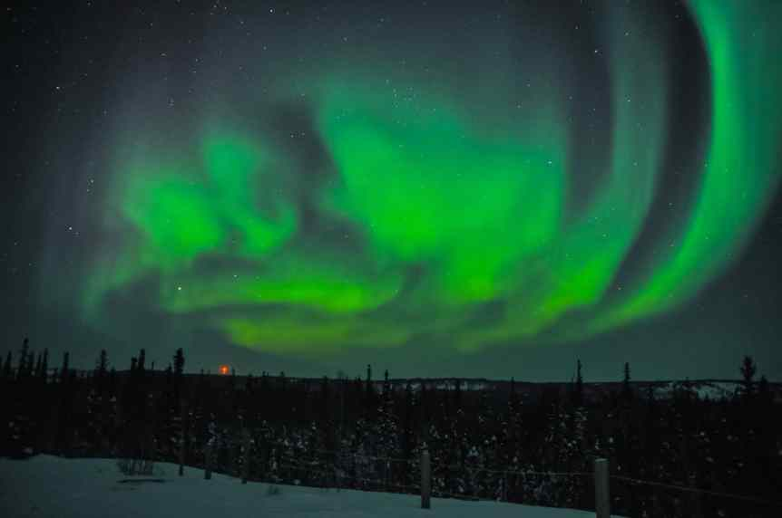 Northern Lights in Canada - Northwest Territories - Joon Im via Flickr