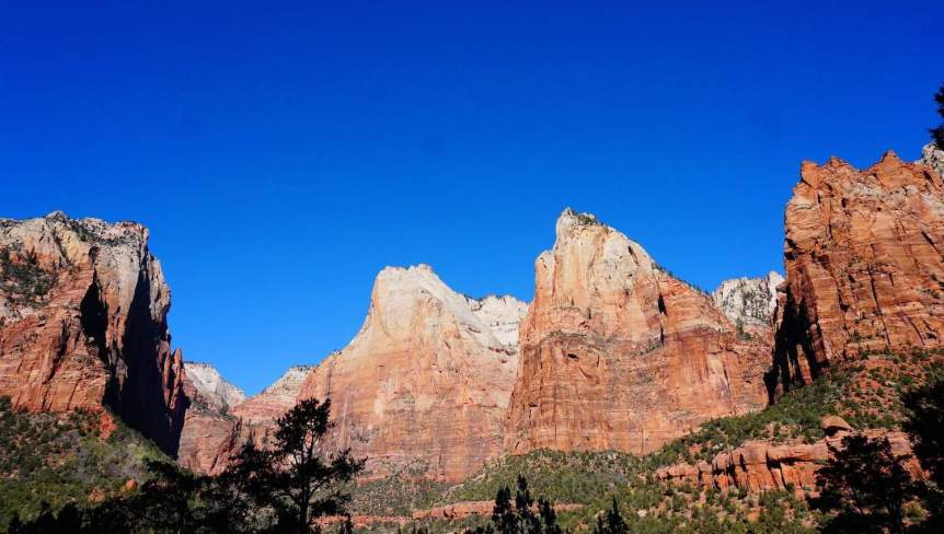 Zion National Park - Court of the Patriarchs