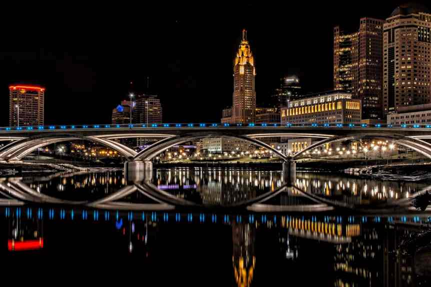 Columbus at Night - Mark Spearman via Flickr