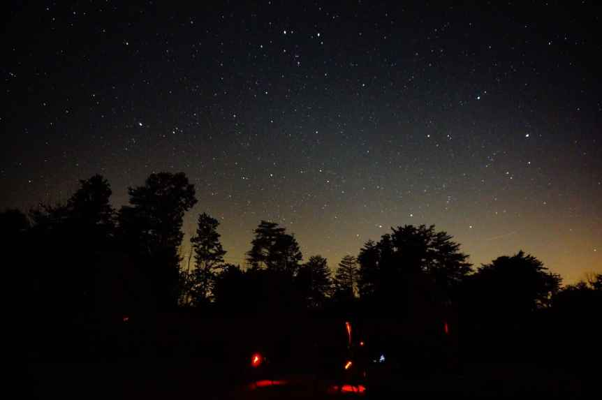 Stargazing in Columbus - Hocking Hills