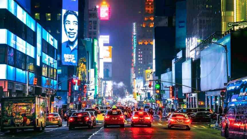 Stargazing in New York City - Manhattan - Ian D. Keating via Flickr