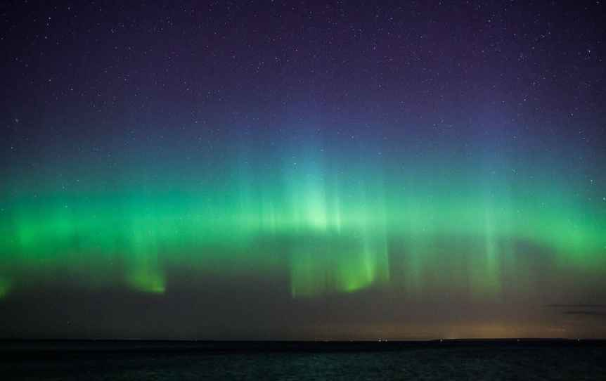 Northern Lights in Estonia - Guillaume Speurt via Flickr