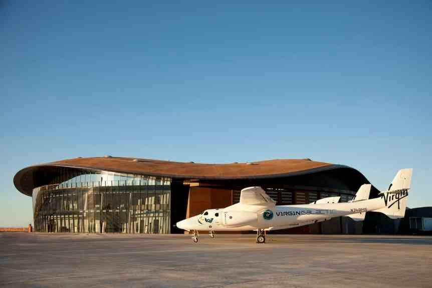 Virgin Galactic's Spaceflight System prepares for Flight at Spaceport America