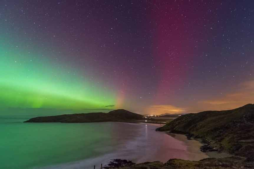 northern lights ireland