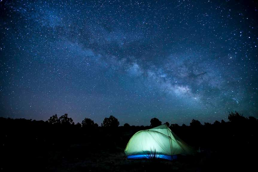 Stargazing in Arizona - Bob Wick for BLM