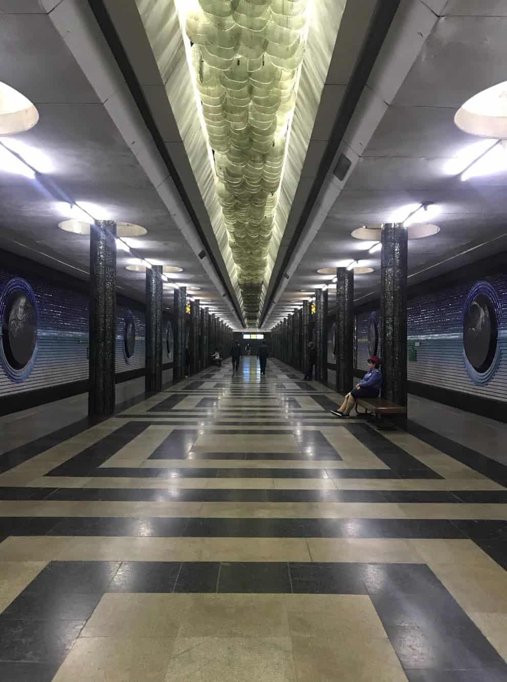 Kosmonavtlar Metro in Uzbekistan