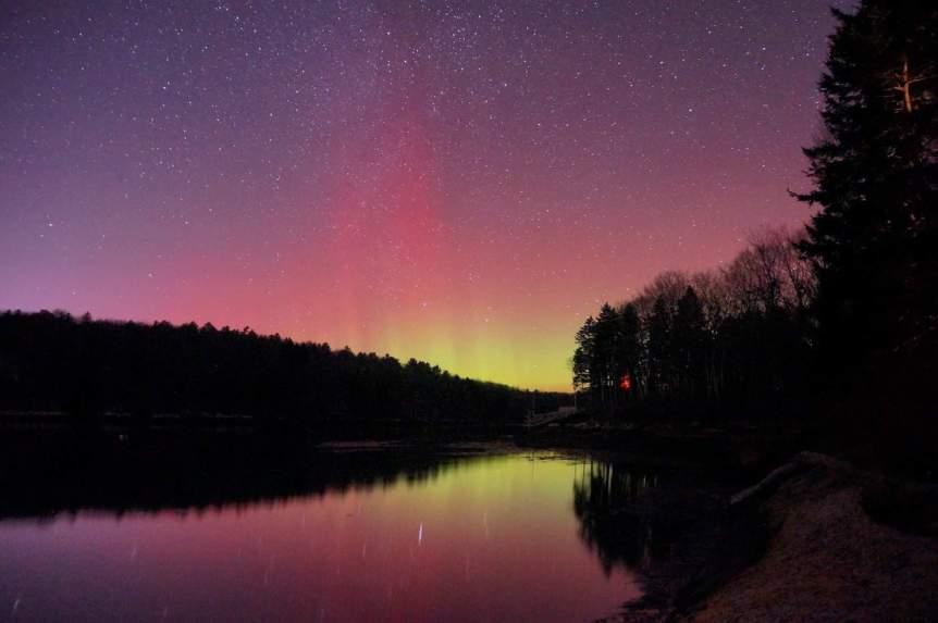 Northern Lights in Maine - Mike Lewinski via Flickr
