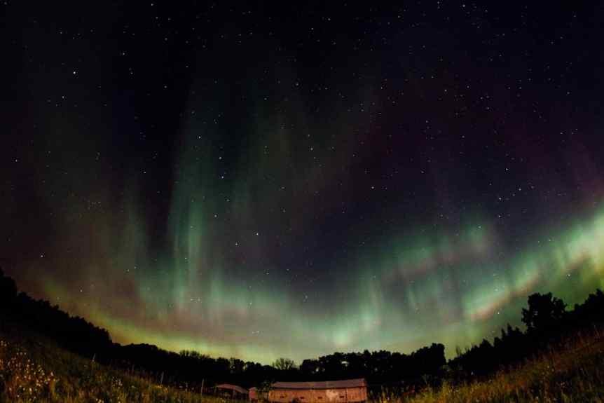 Northern Lights in Minnesota - m01229 via Flickr