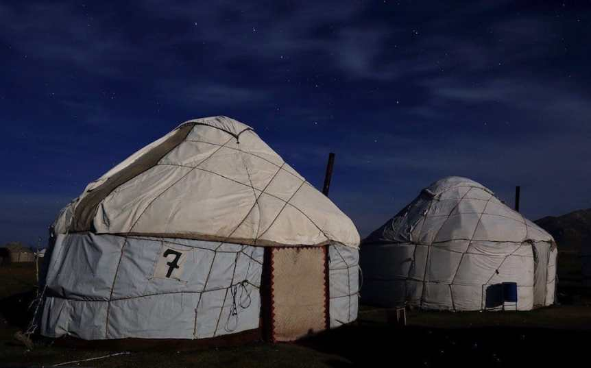 Yurt Camp - Thomas Depenbusch via Flickr