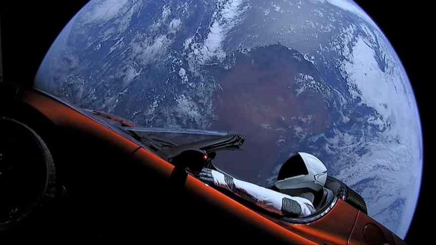 SpaceX Space Tourism Company - Starman