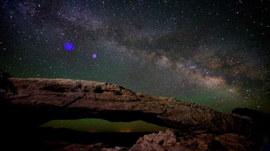 Canyonlands Stargazing - Mesa Arch - Chao Yen via Flickr