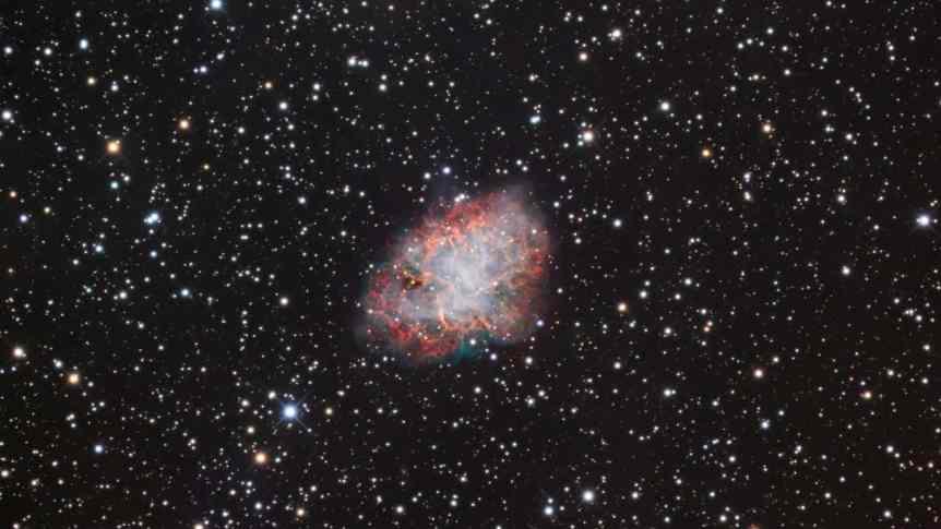 Messier 1 - Marc Van Norden via Flickr