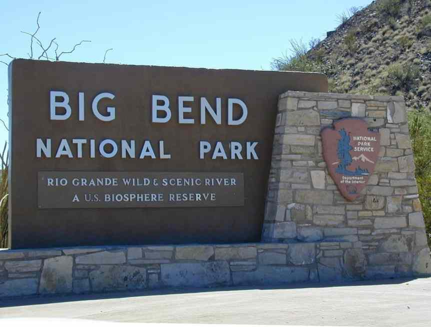 Stargazing in Big Bend Sign