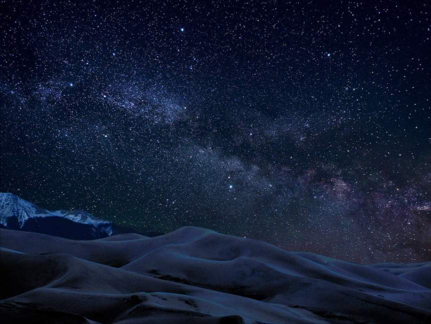 Stargazing in Colorado - Great Sand Dunes - Patrick Myers for NPS