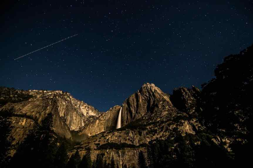 Yosemite Stargazing - Cooks Meadow