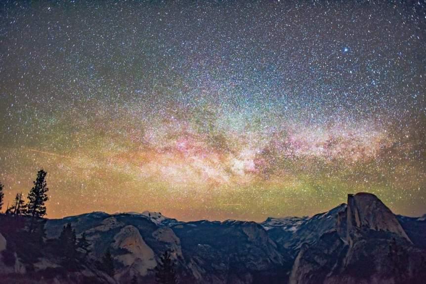 Yosemite Stargazing - Sentinel Dome