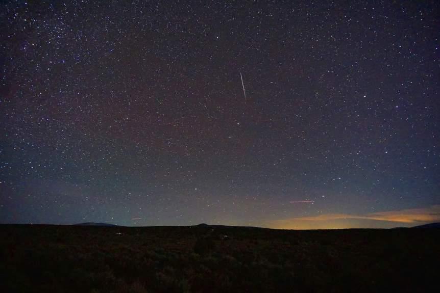 2021 Night Sky - Draconid Meteor Shower - Mike Lewinski via Flickr