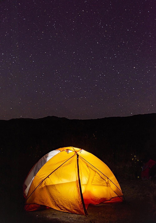 Haleakala Stargazing - Camping
