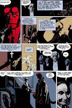 Hellboy Nature of the Beast Mike Mignola