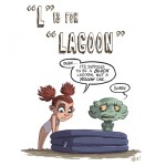 L is for Lagoon