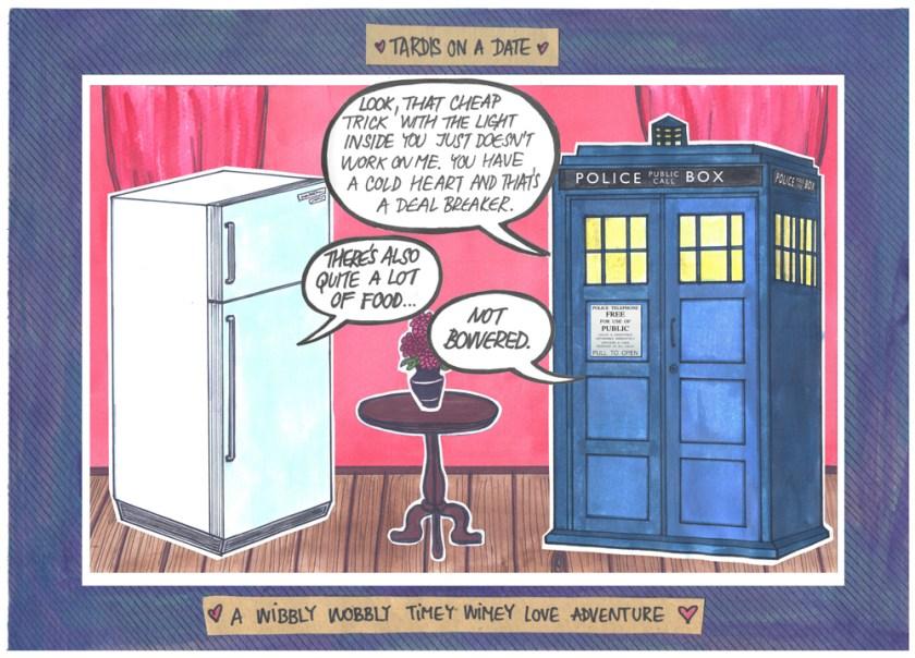 TARDIS ON A DATE #9
