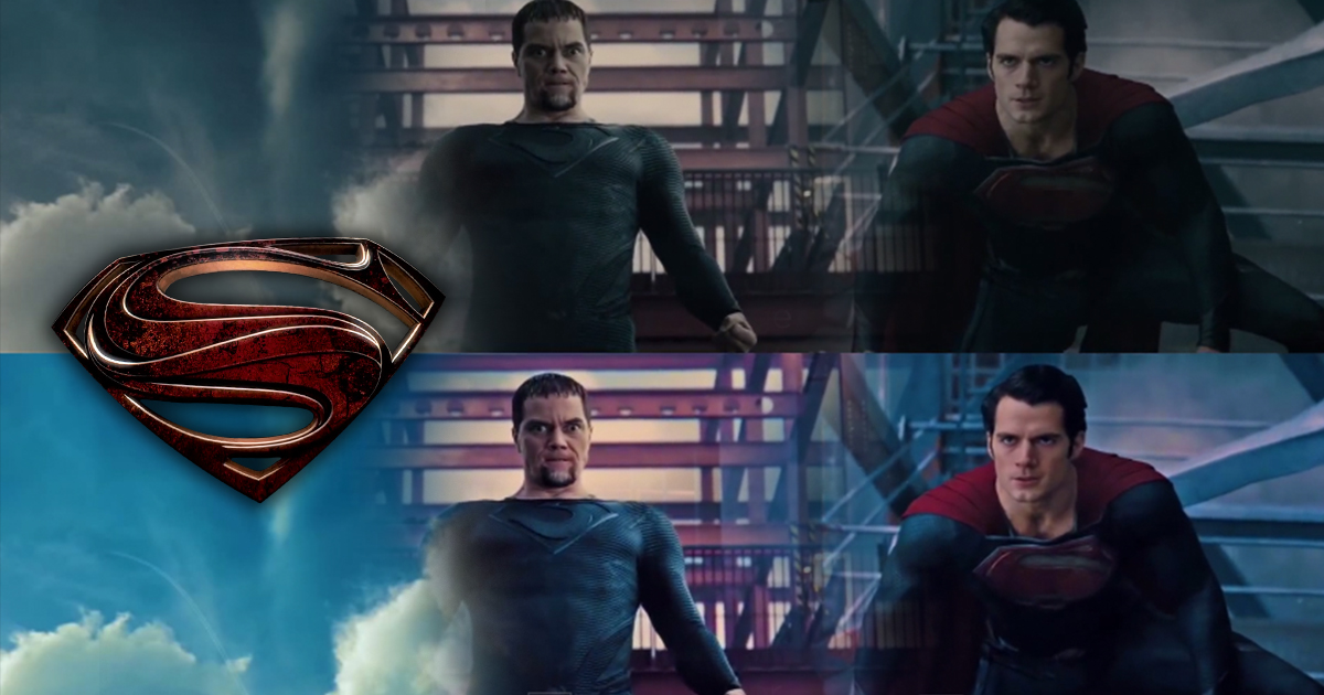 """Featured image for """"Video-fanatici odhalili stratené farby vo filme Man of Steel"""""""