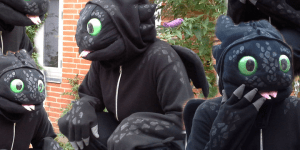 toothless cosplay cover