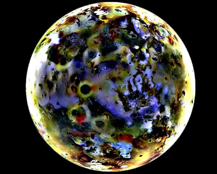 ERV of Jupiter Moon Io