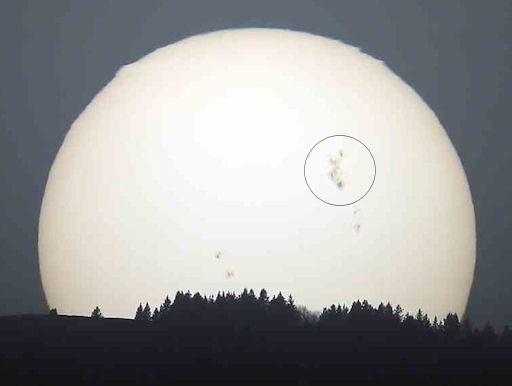 Sun Spot AR1429