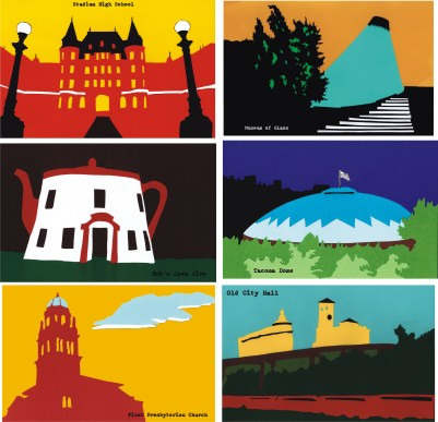 Isaac Olsen's Tacoma postcards