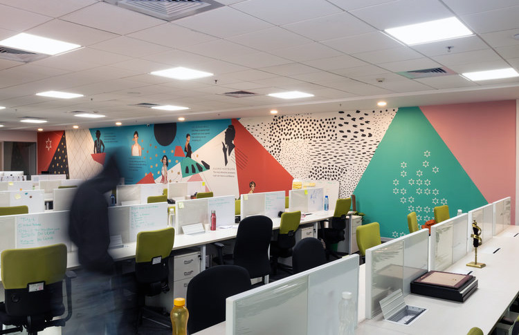 commercial space rented in delhi on upper ground floor in a building in mahipalpur