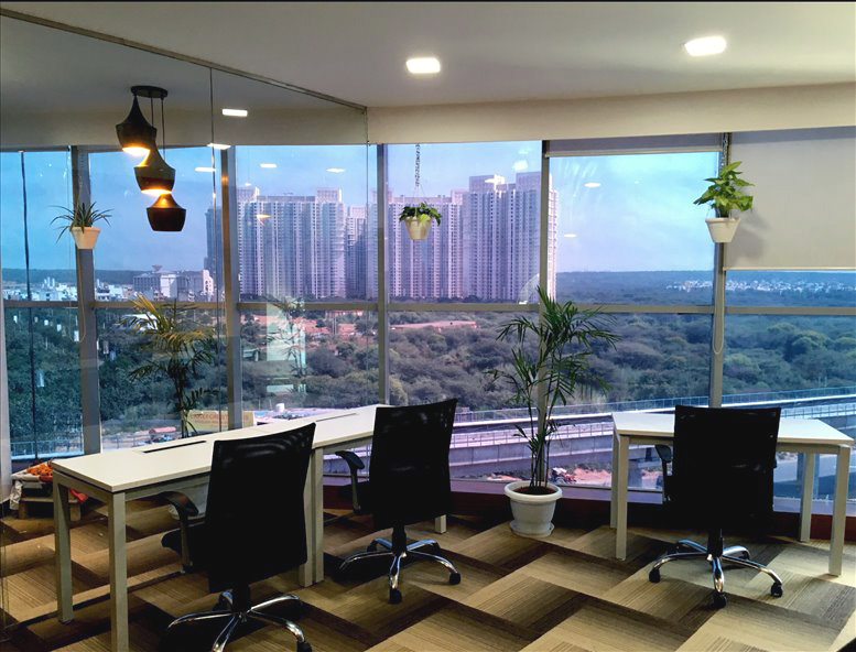 furnished office on lease in gurgaon golf course road