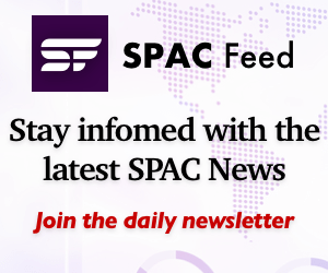 SPAC Feed | Subscribe to Newsletter