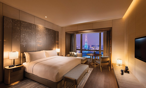 Conrad Guangzhou Overlooks the Pearl River