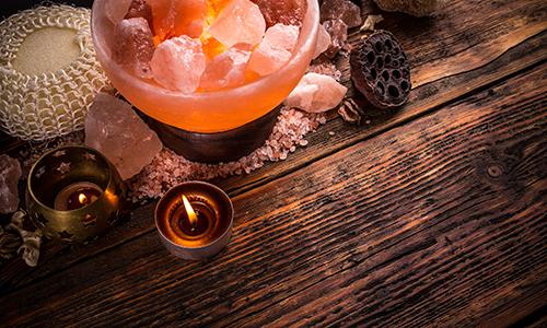 Salt Lamp Healing