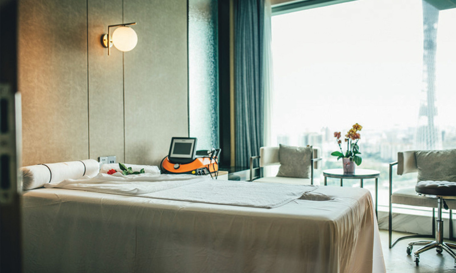 Spa and Aesthetic Center at Elegant Hotel Guangzhou