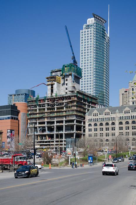 Photo Du Jour Tour Deloitte Under Construction  Spacing