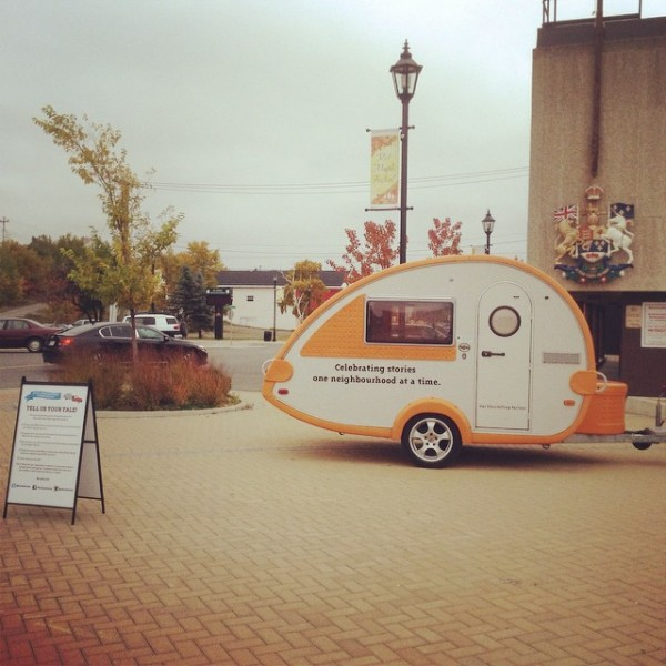 The Storymobile in Windsor, Ontario