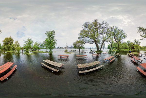 Toronto Island Flood Photos