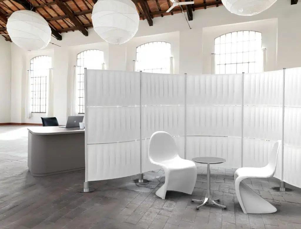 Mamparas de oficina  Separacin de ambientes  Muebles de oficina Spacio