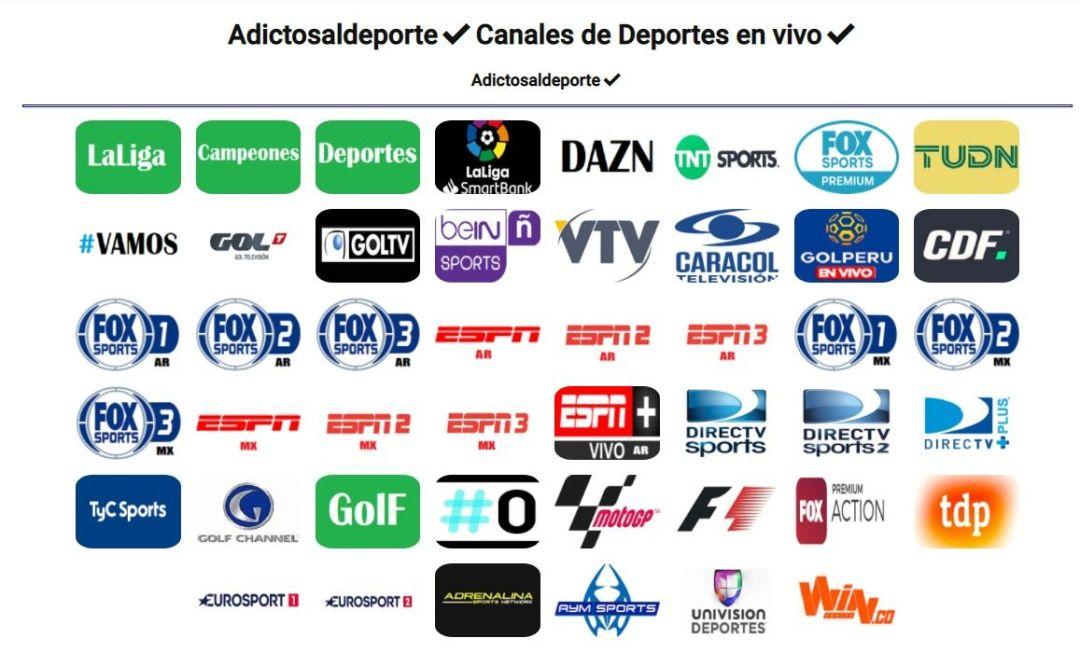 Adictos al Deporte - Spacio Virtual - Ver Deportes (GRATIS)