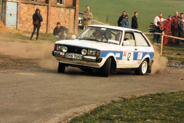 Barry & Michael LindsayDurham Dales Rally - Barford Camp
