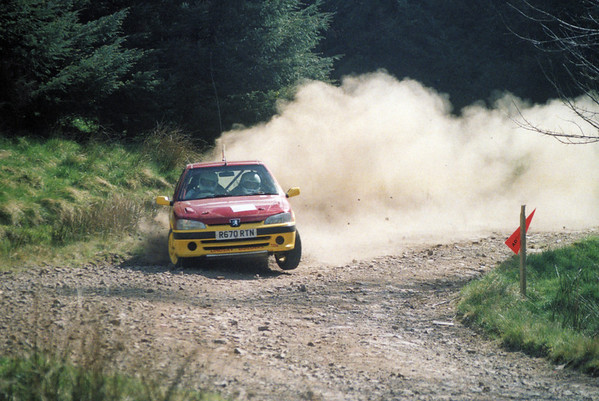 Barry & Michael Lindsay - Lion Stages Rally 2002