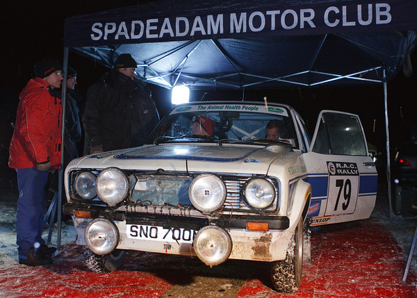 Phil Jobson & Ken Bowman on the RAC 2010
