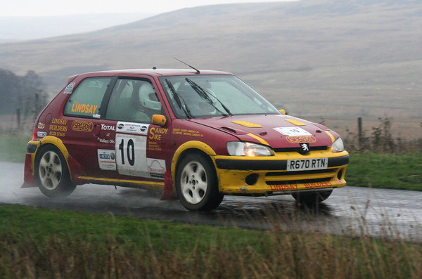 Barry & Michael Lindsay, Cheviot Stages 2011